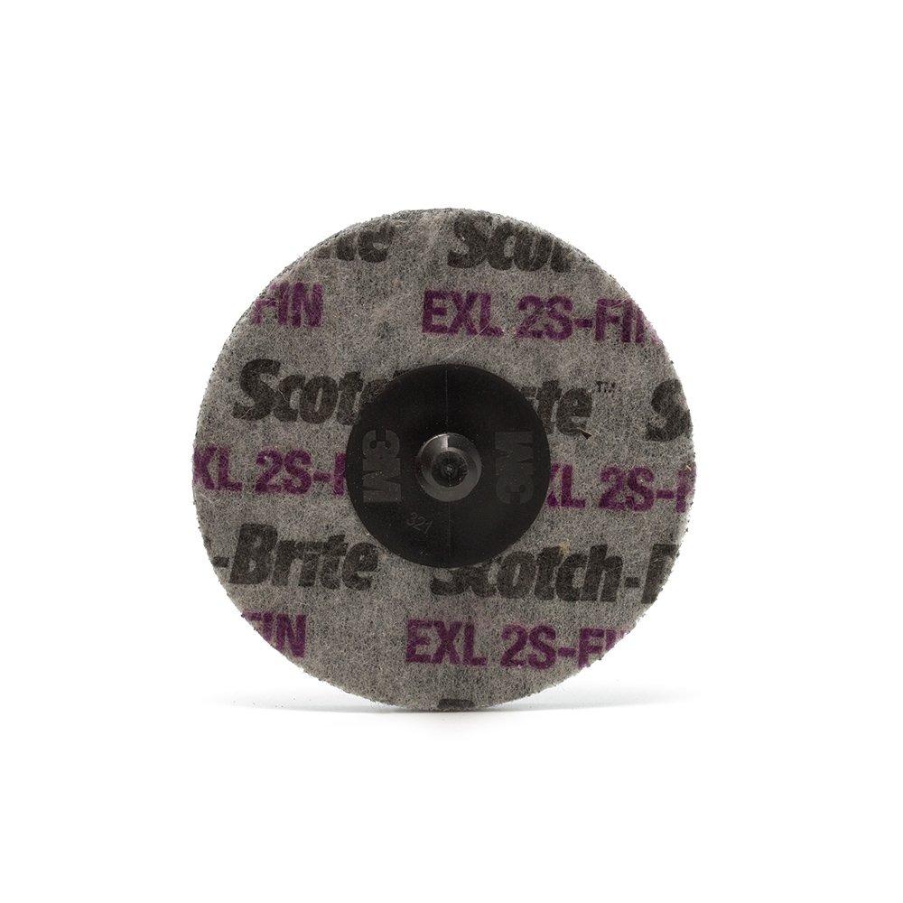 Arbor Attachment Thickness 3//4 in Fine Grade PRICE is per CASE 8 in Dia 3 in Center Hole 4500 Max RPM 3M Scotch-Brite XL-WL Convolute Silicon Carbide Hard Deburring Wheel 16461