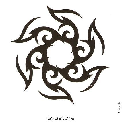 Tatuaje Temporal Tribal tatuaje efímero Tribal - avastore: Amazon ...