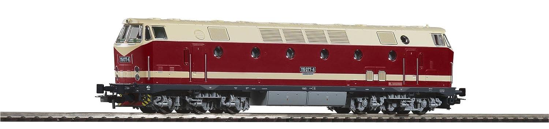 Piko 59934 - Diesellok 119 DR IV, Licht oben, Schwarzr Rahmen
