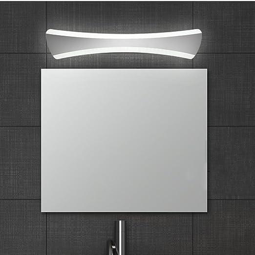 ELINKUME 15 W LED luce lampada da specchio, Specchio moderno ...