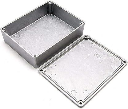 Caja de proyectos de electrónica, caja de aluminio fundida BE-TOOL ...