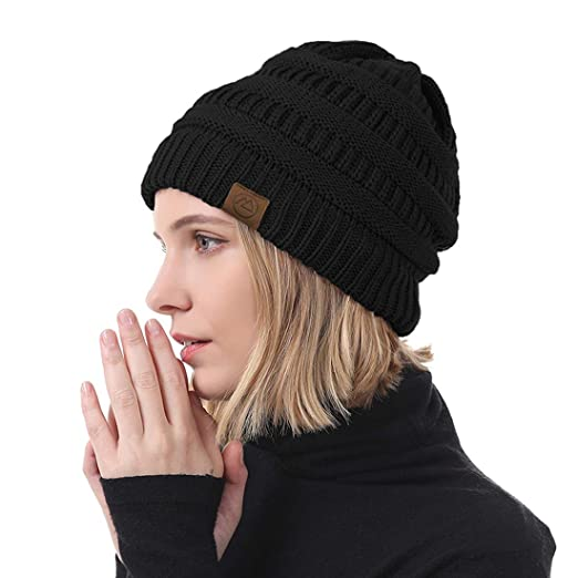 bae94e920 Durio Beanie for Women Knit Hat Cozy Winter Hats Thick Womens Hat Warm  Beanie Hat Gifts for Women