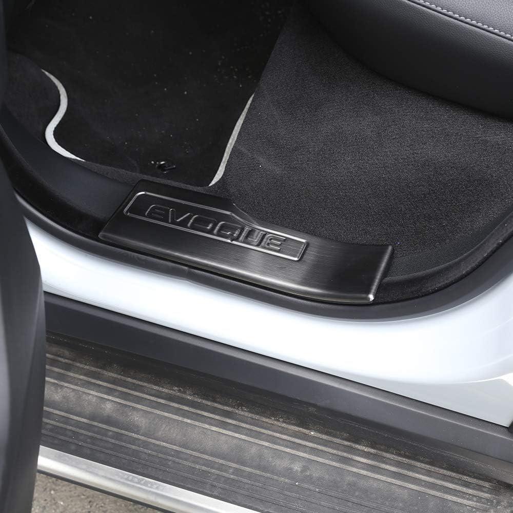Per RangeRover Evoque 2012 2018 in acciaio inox 304 interno porta con battitacco leggero