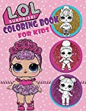 Coloring Book For Kids: L.O.L Surprise