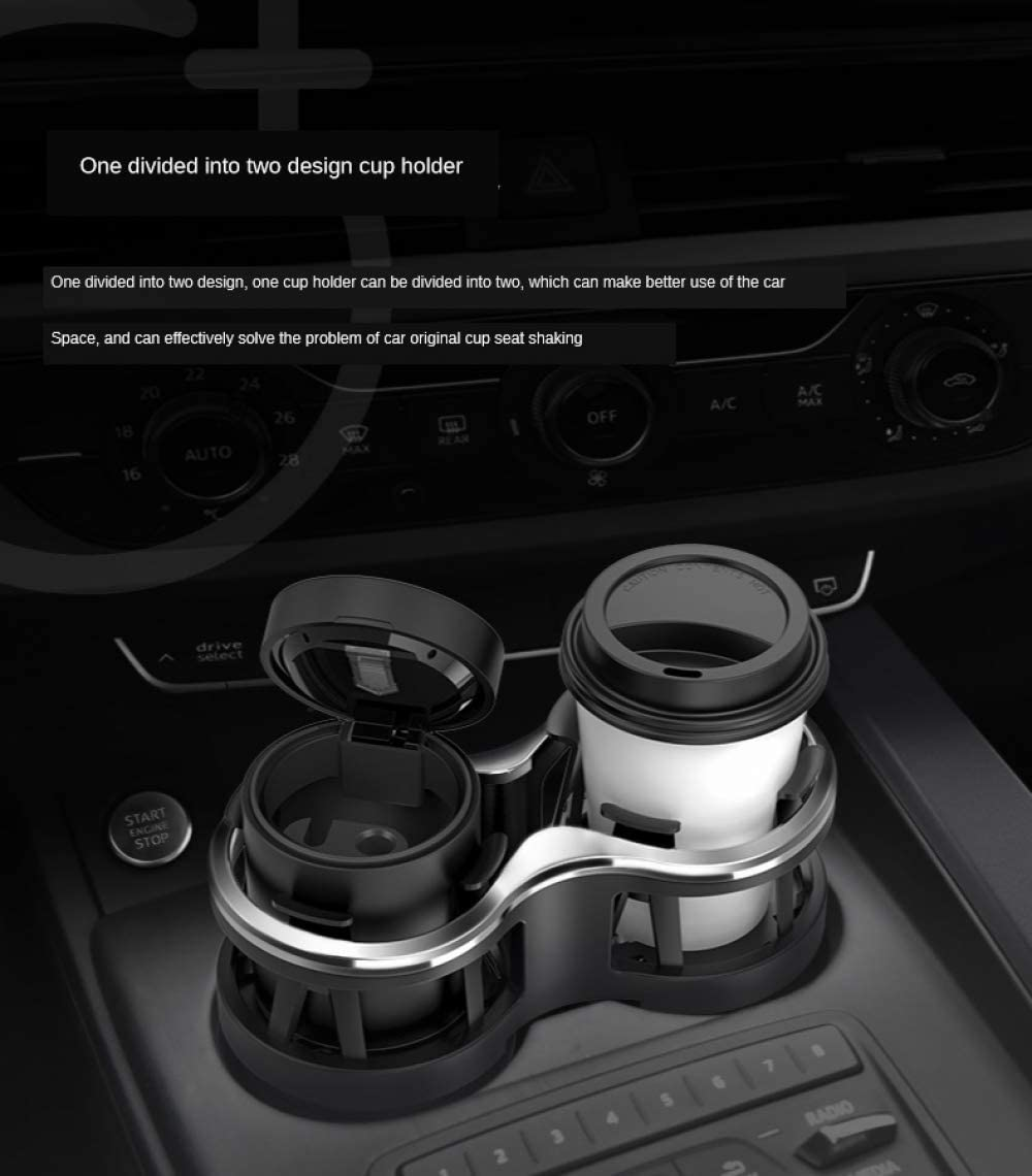 Qiuqiu Drink Holder Double Hole Water Cup Holder For Cars Insulated Drink Holder For Car Cola Drink Holder One For Two Drink Holders Küche Haushalt