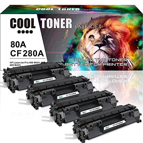 Cool Toner Compatible Toner Cartridge HP 80A CF280A 80X CF28