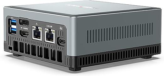 TALLA Intel Core i5-8279U 16GB/256GB. Mini PC Intel Core i5-8279U | 16GB RAM 256GB PCIe SSD | Gráficos Intel Iris Plus 655 | Windows 10 Pro | Intel WIFI6 AX200 BT 5.1 | HDMI/DP/USB-C | 2X RJ45 | 4X USB 3.0 | Factor de Forma Pequeña