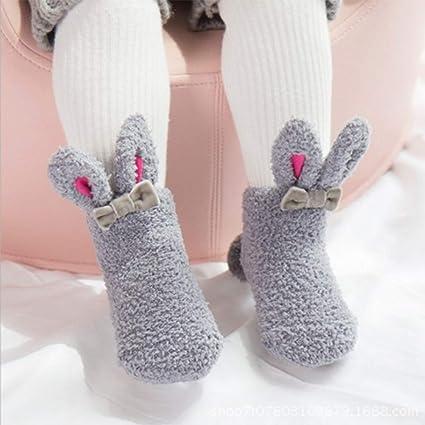 seleccione para oficial oferta busca lo último Rabbit - Calcetines de bebé para bebé, diseño de orejas de ...