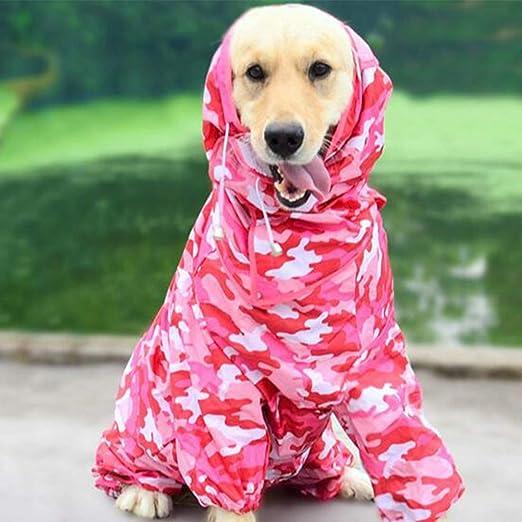 Gxianwengen Impermeable para Perros Kappa/Ropa de Lluvia con ...