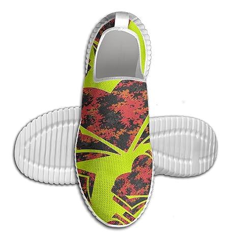 Library Love Men's Slip-On Sneaker Mesh Running Loafers