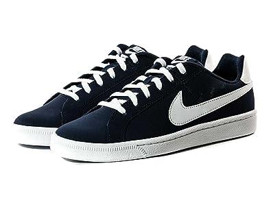 c0aaf6e1f1ded Nike Baskets Court Royale - Enfant Garçon - Bleu Marine 40  Amazon ...