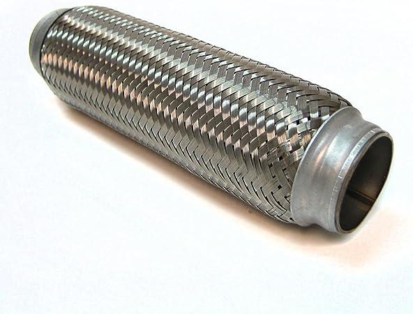 45 X 250mm Flexrohr Flexibles Auspuff Rohr Flexibel Abgasanlage Eberspächer Universal Auto