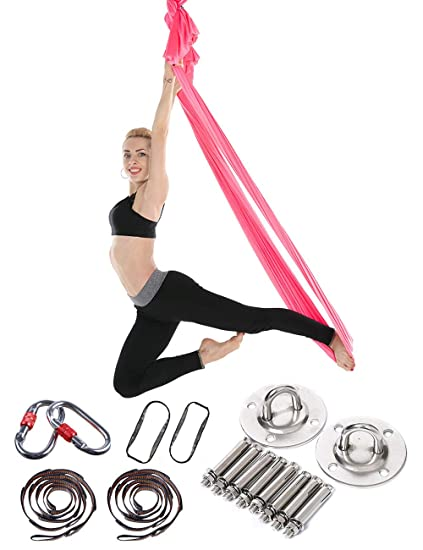 besbomig Columpios de Yoga para Anti Gravedad Elástico ...