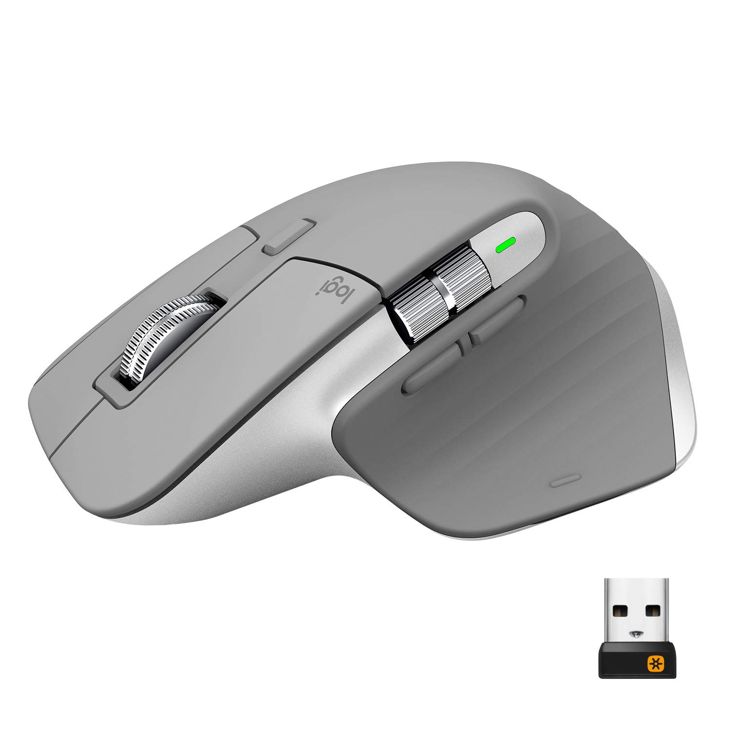 Mouse Inalambrico Logitech Mx Master 3 Advanced Mid Grey