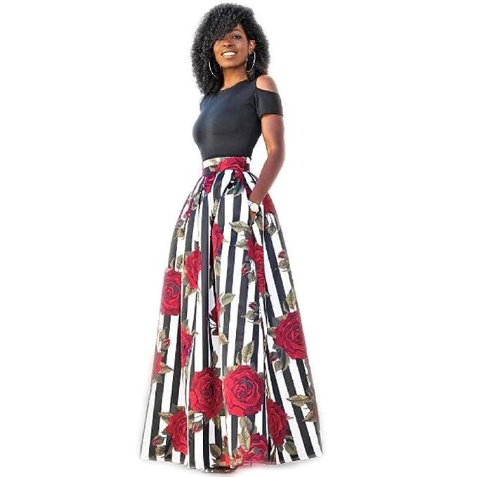 Vestito da donna Elegante 💋feiXIANG® Donna Abito Senza Spalline Vestito  Manica Corta Abiti 842248d257c