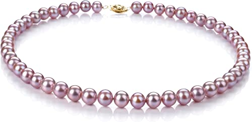 Pink 7-8mm AA Quality Freshwater Cultured Pearl Necklace