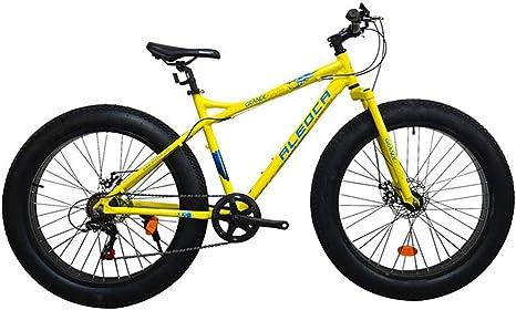 DRAKE18 Bicicleta Gorda, Frenos de Disco Doble de 26 Pulgadas con ...