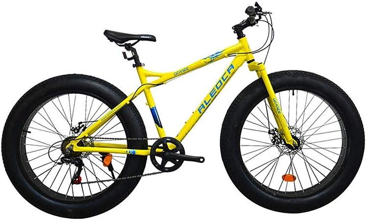 DRAKE18 Bicicleta Gorda, Frenos de Disco Doble de 26 Pulgadas ...