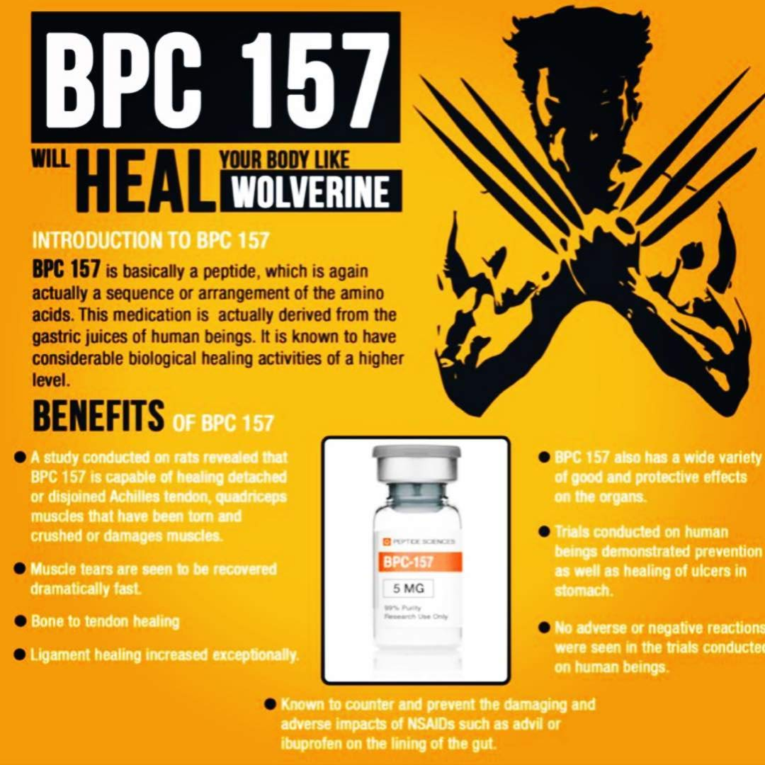 BPC-157 50mg (Body Protective Compound)