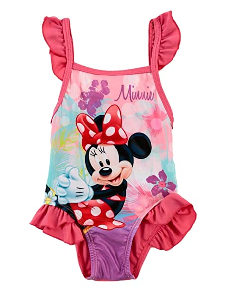 383661933 Minnie - Bañador - para bebé niña Rose 24 meses: Amazon.es: Ropa y  accesorios