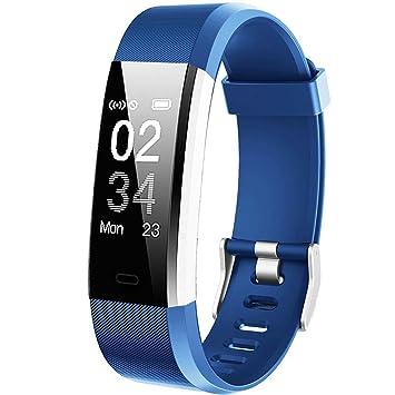 Reloj inteligente, ganriver pulsera conectable ...