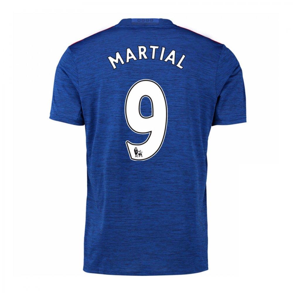 2016-17 Manchester United Away Football Soccer T-Shirt Trikot (Anthony Martial 9) - Kids