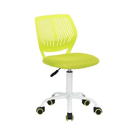 Bürostuhl Fanilife Drehstuhl Schreibtischstuhl Bürostuhl Kinder Arbeitsstuhl höhenverstellbar, gepolsterte Sitzflaeche aus Ne