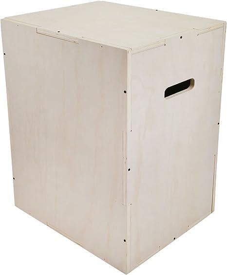 orangea 3 en 1 Madera Plyo caja 24/16/20 24/20/30 30/20/24 386lb capacidad pliométrico salto caja para Crossfit Training, artes marciales mixtas, o aparato para entrenamiento agilidad, 24X20X30