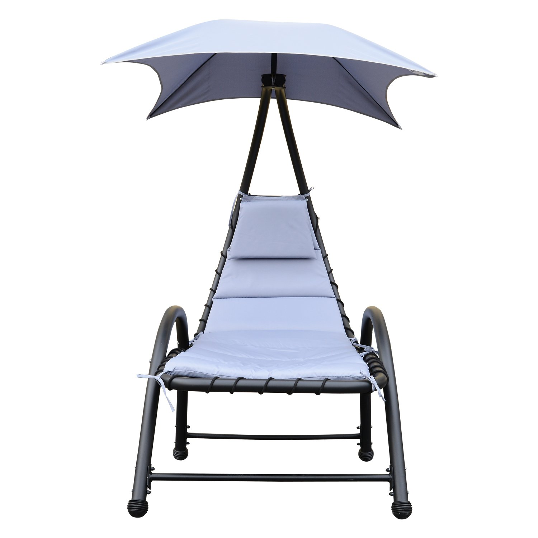 Amazon.de: Outsunny Sonnenliege Gartenliege Relaxliege mit ...
