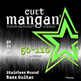 Curt Mangan Fusion Matched Stainless Wound Bass Strings (50-110)