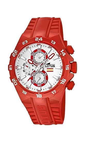 f39cb1b8e978 Lotus Champion 15800-2 - Reloj cronógrafo de cuarzo para hombre ...