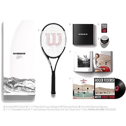 Wilson Pro Staff RF97 Tuxedo Limited Edition VIP Autographed Tennis Racquet (4 1/4