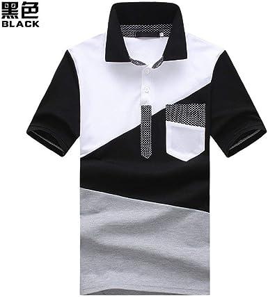Camisa De Polo para Bolsillo En Hombre con Modernas Casual El Pecho Camisa De Polo De Manga Corta En Verano Camisa De Manga Larga para Hombre Camisas De Manga Larga para Mujer: