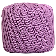 Crochet Thread - SIZE 3 - Color 20 - LILAC - 2 Sizes - 27 Colors Available