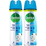 Dettol Multi-Purpose Disinfectant Spray For Hard & Soft Surfaces, Spring Blossom - 170 g (Pack of 2)