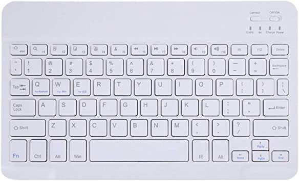 Suitable for Tablet Mobile Phone Mac,Black Convenient Dual Mode Effective Distance 10 Meters 61 Keys 17 Lighting Modes QOUP Wireless Bluetooth Keyboard