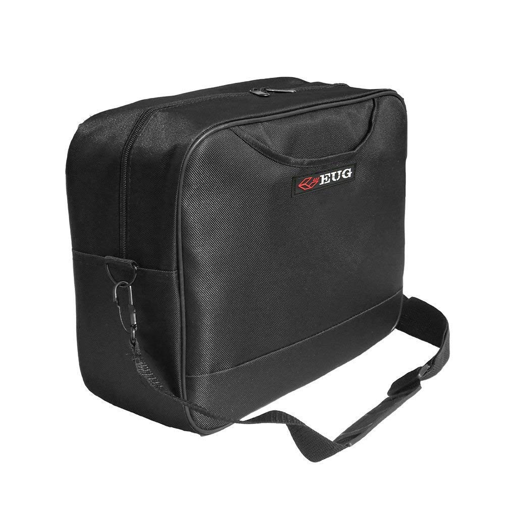 CAIWEI Professional Projector Travel Bag Portable Laptop Bag and Carrying Case Soft with Detachable Shoulder Strap (Black)