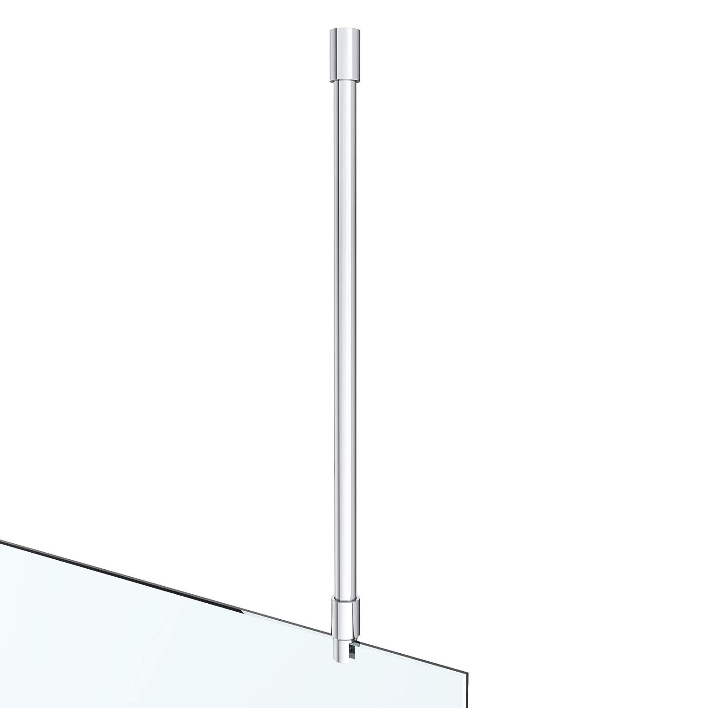 Barre stabilisatrice pour receveur de douche en acier inoxydable carr/é 500-800 mm /Épaisseur 6-10 mm