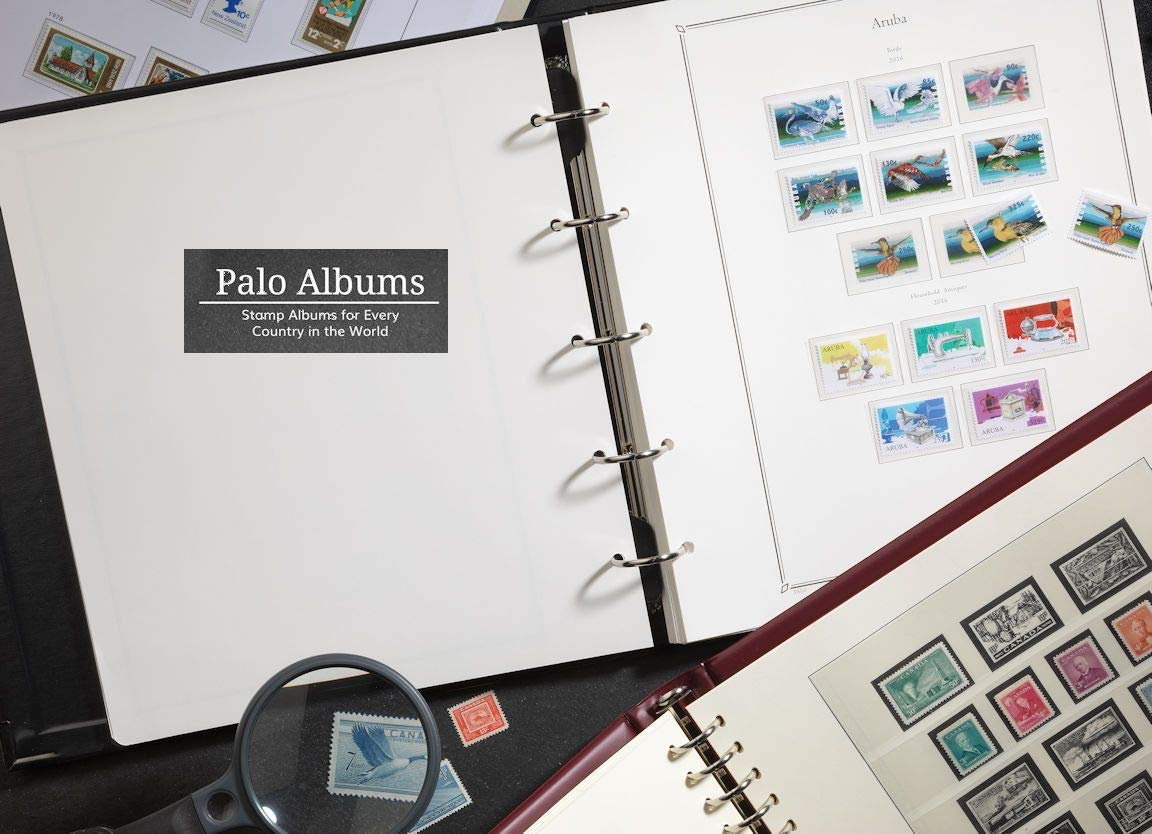 Palo Albums USA Plate Blocks 1995-2002 Stamp Album Pages - Country Pages