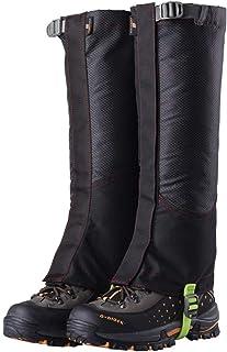 ZHLU Alpinismo Escursionismo Oxford Panno Armatura Impermeabile e Resistente all'Usura Leggings di Sabbia,Red