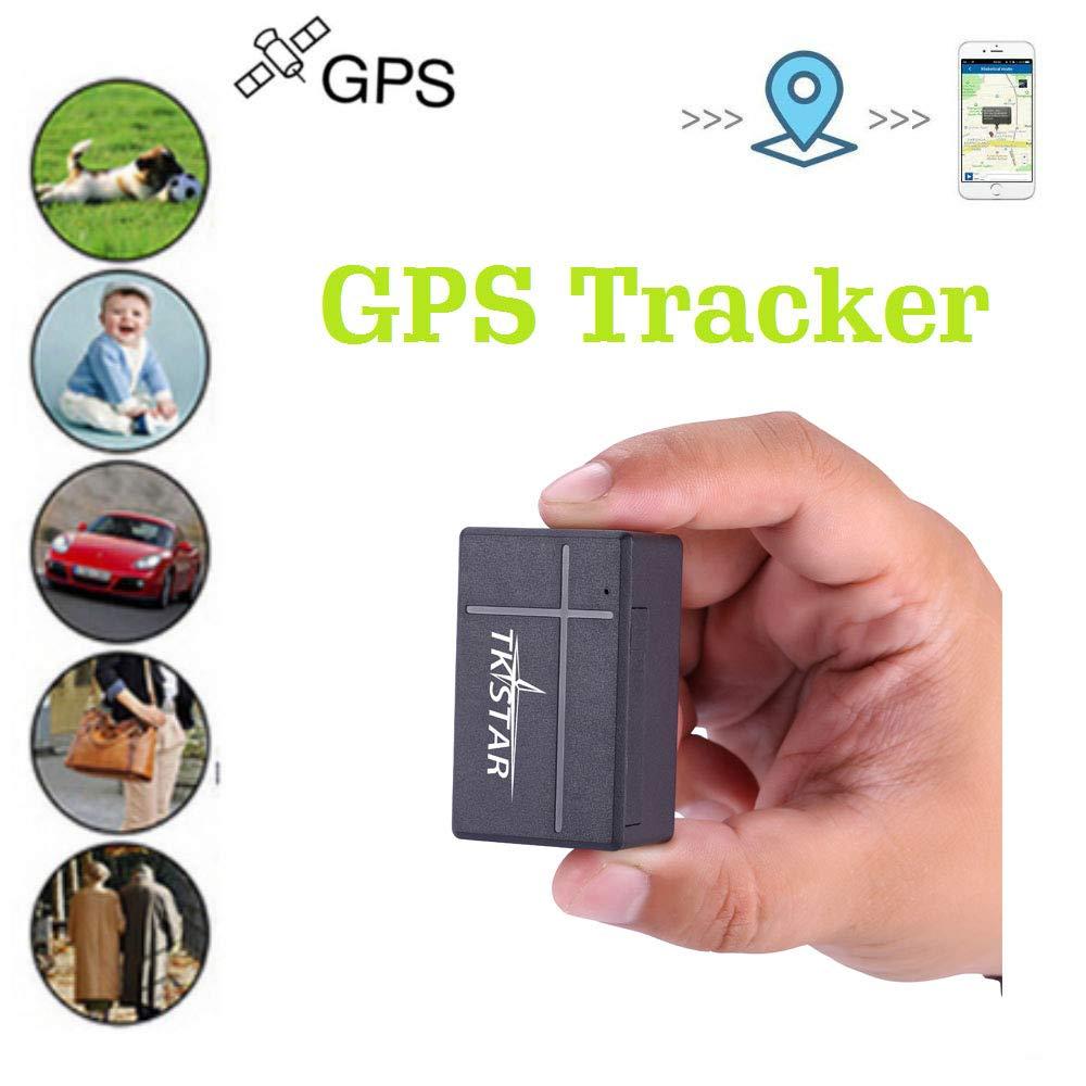 Mini GPS Tracker.TKSTAR GPS la funzione di interruttore del timer il rilevatore non /è in grado di rilevare il segnale GPS Allo stato off Facile da nascondere Posizionamento in tempo reale.1000mA