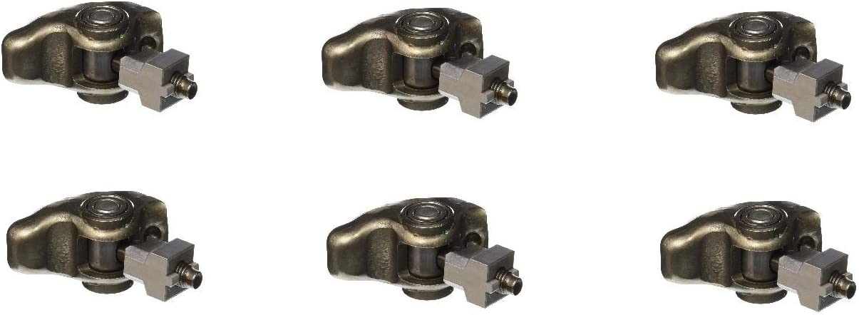 Michigan Motorsports 3.4L V6 Roller Rocker Arms with 8mm bolts Fitment for GM 2005-2009 12594509 QTY 6