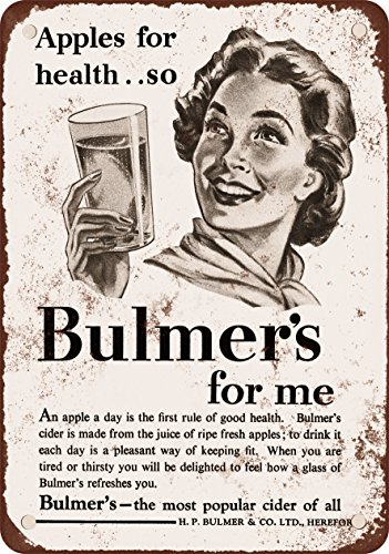 7-x-10-metal-sign-1954-bulmers-apple-cider-vintage-look-reproduction
