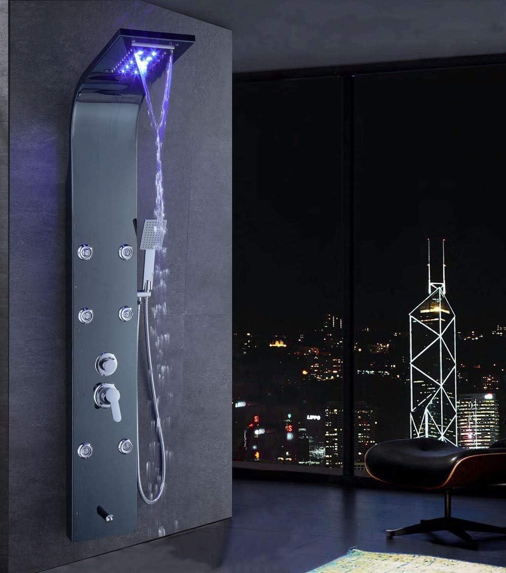 XZST - Columna de ducha de acero inoxidable 304 de 150 cm de ...