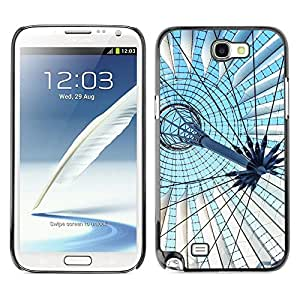 Print Motif Coque de protection Case Cover // F00002684 techo // Samsung Galaxy Note 2 II N7100