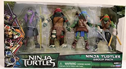 Amazon.com: Teenage Mutant Ninja Turtles Movie figura de ...