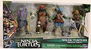 Teenage Mutant Ninja Turtles Movie Action Figure Set, Ninja ...