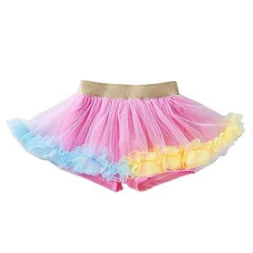 Topgrowth - Falda de Ballet para niña con tutú Multicapa de Ruffle ...