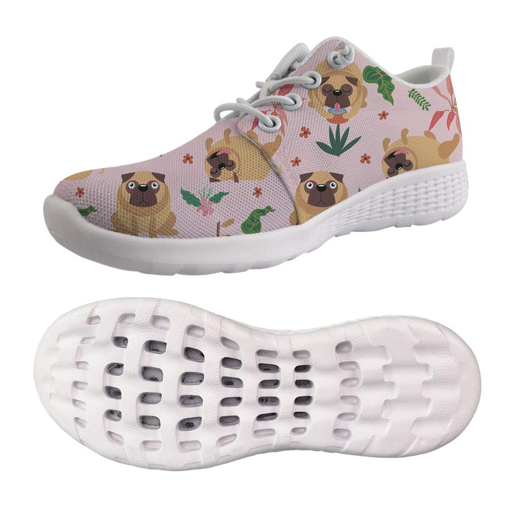 cb02d2c3005f9 Amazon.com | UNICEU Pug Pattern Men's Women's Quick Drying Sports ...