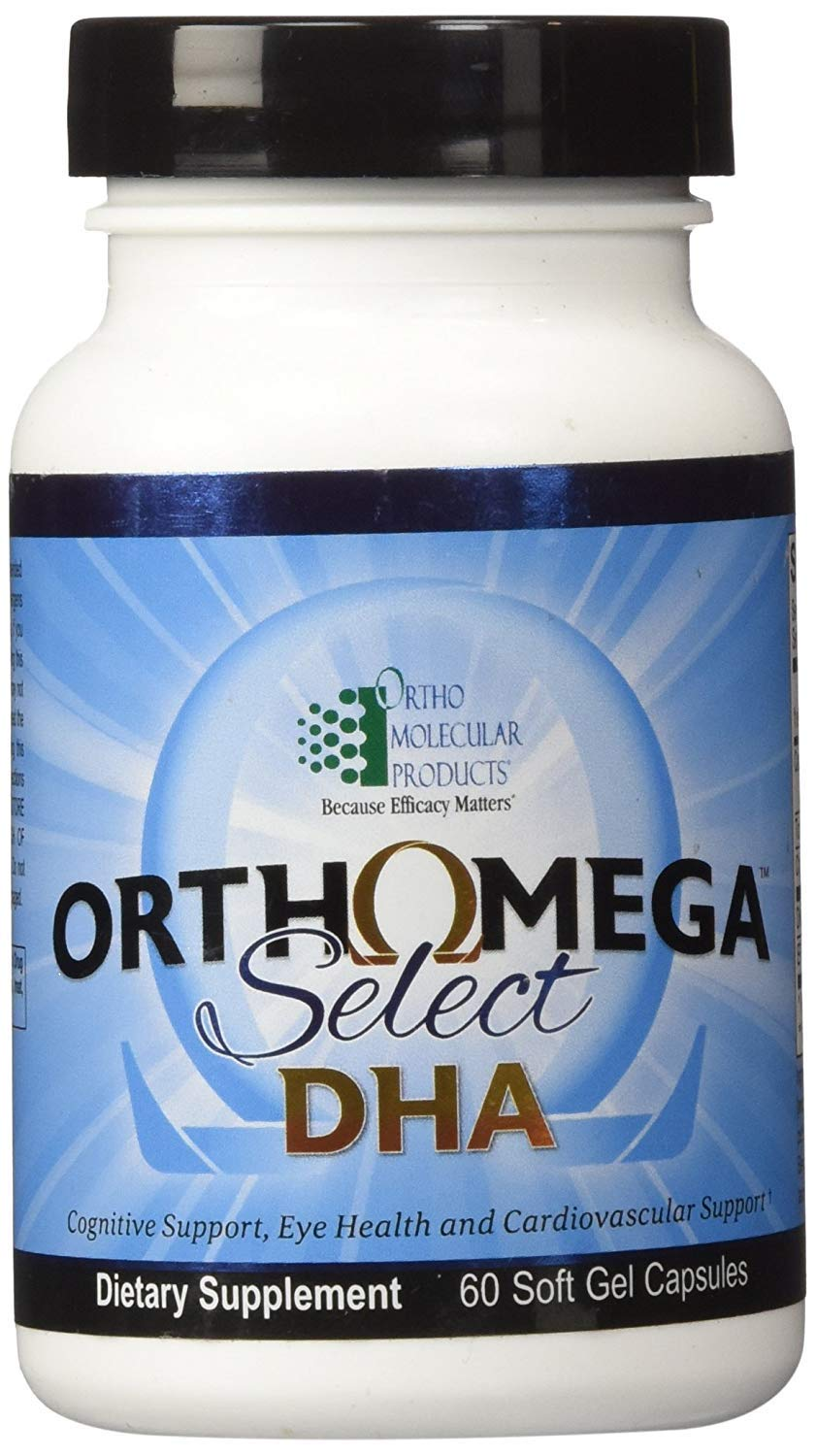 Ortho Molecular - Orthomega Select DHA- 60 Soft Gel Capsules by Ortho Molecular Products